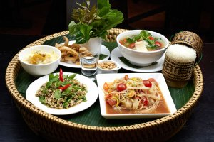 Lao traditional food