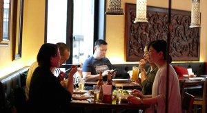 lunch at khop chai deu restaurant