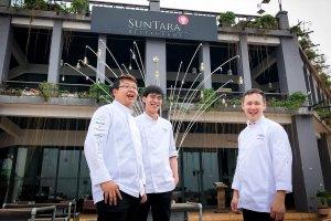 3 chefs at Suntara