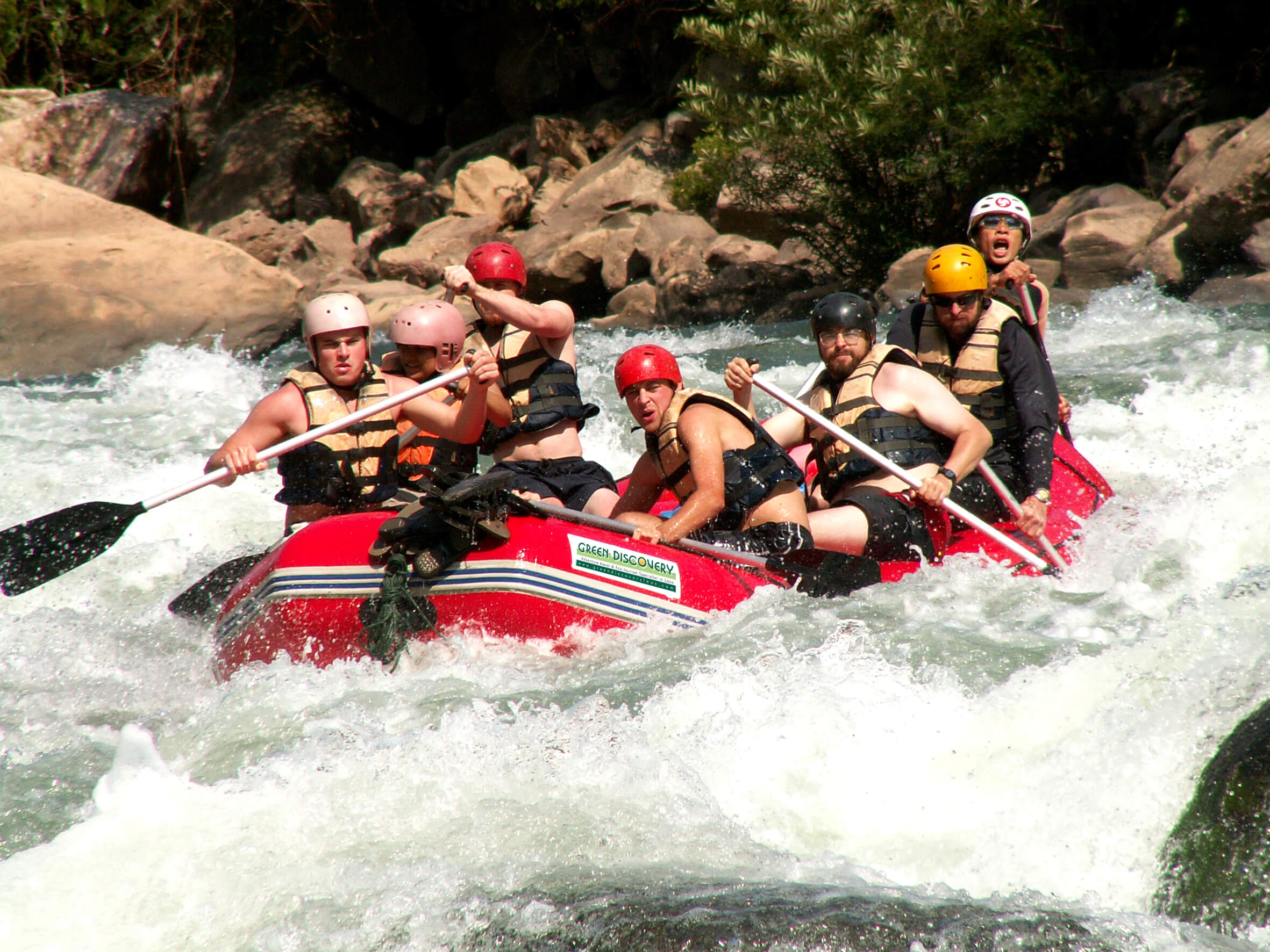 Rafting in Khammouane